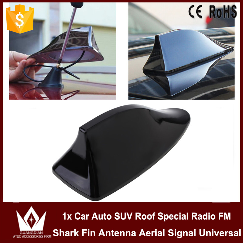 Guang Dian Car Auto SUV Roof Special Radio FM Shark Fin Antenna Aerial Signal for camry pruis Alphard Land Cruiser Prado Rav4 high quality car with blank radio shark fin antenna signal shark fin with 3m adhesive for chevrolet lanos