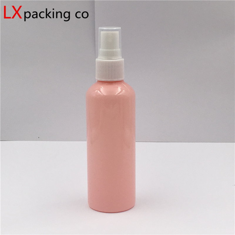50 PCS 10 30 100 ML Pink Plastic Pet Mini Spray Bottles Sprayer Atomizer Empty Perfume Small Travel Liquid Cosmetic Containers -3