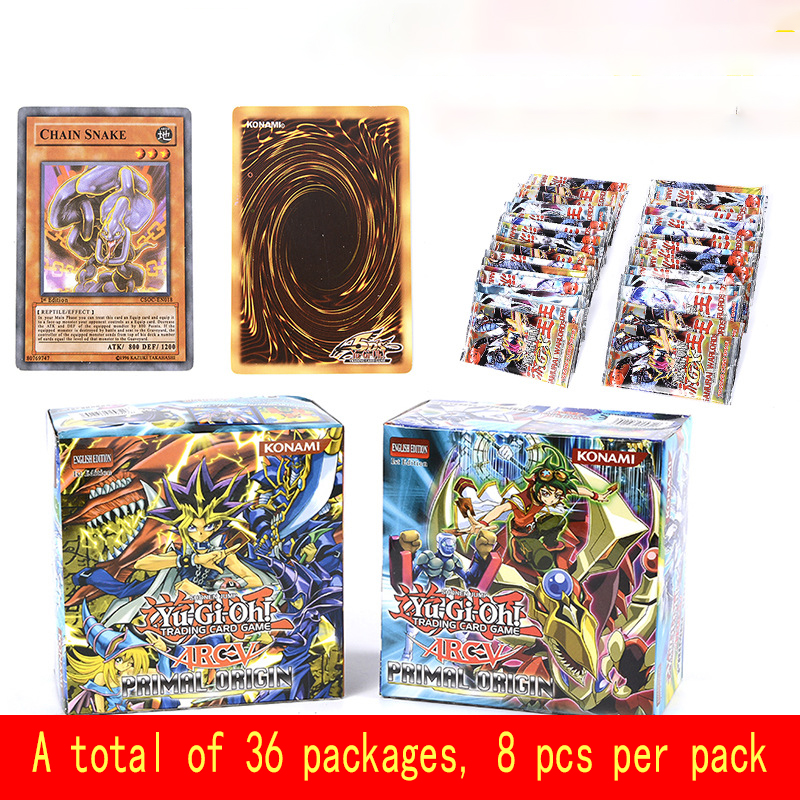 288pcs/set Anime Japan Yu Gi Oh Game Cards Carton Yugioh Game Cards  Yu-Gi-Oh Cards Collection For Fun With Japan  LegendaryToys