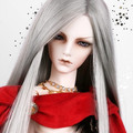1/3 1/4 1/6 bjd wig doll hair long straight sd bjd doll wig high temperature wire wig luts fa14