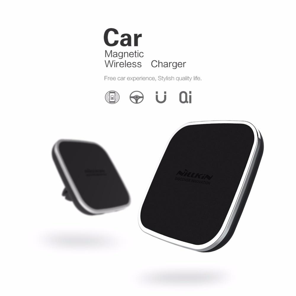 Nillkin car QI Wireless Charger Holder Magnetic Air Vent pad pad for - لوازم جانبی و قطعات تلفن همراه