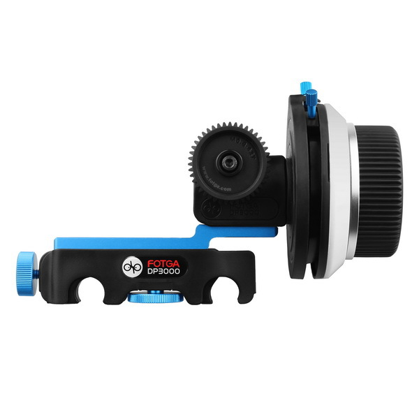 Fotga dp3000 qrフォローフォーカスa/bハードストップサポートデジタル一眼レフ5d ii iii 7d d90ギアオプション送料無料