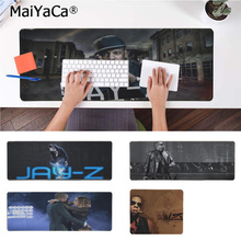 MaiYaCa Top Quality Jay-Z Laptop Computer Mousepad Free Shipping Large Mouse Pad Keyboards Mat