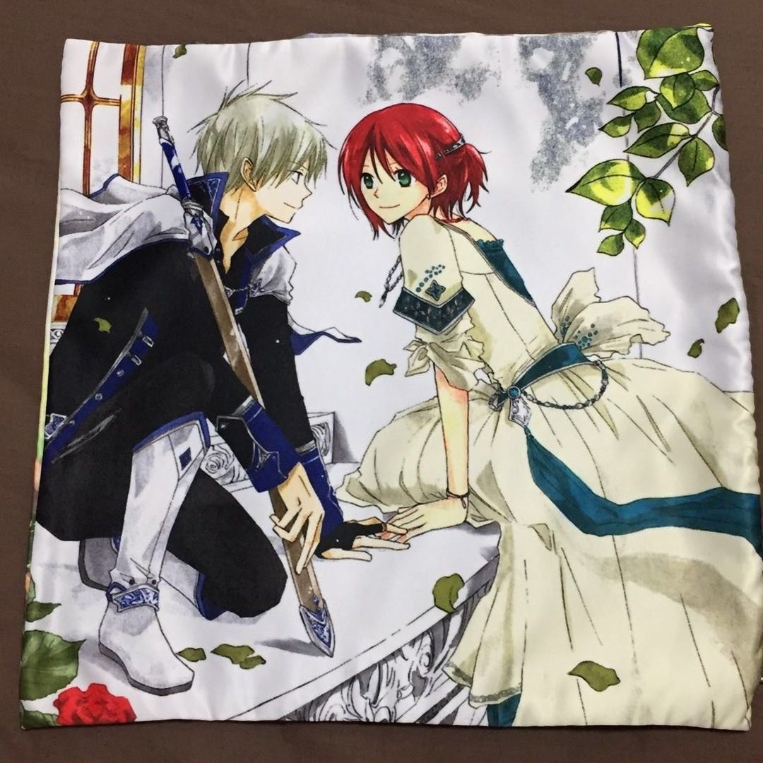 Anime Akagami no Shirayukihime two sided Pillow Case Cover 151