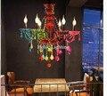 Art Decora цветная D60cm H55cm красочная хрустальная люстра  лампа с кристаллом  современное освещение  AC гарантия  100% Хрустальная Подвесная лампа