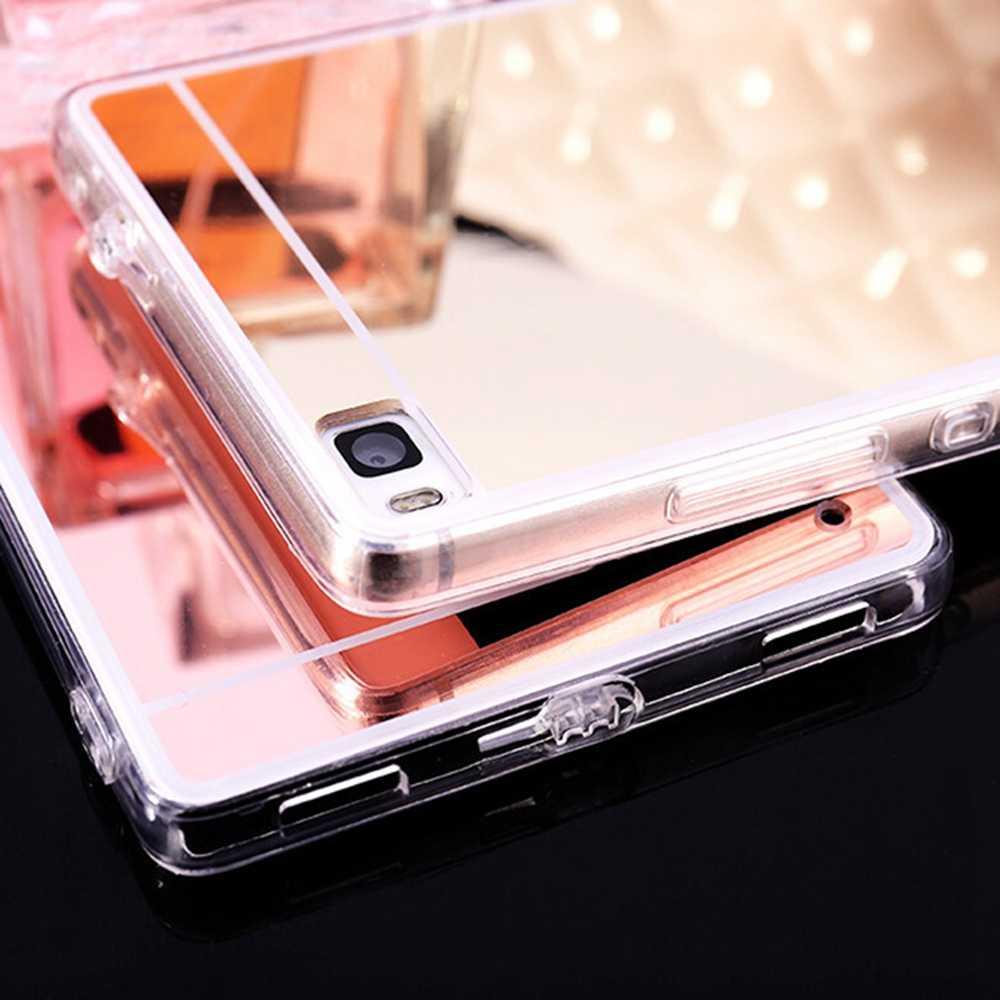 を Huawei 社メイト 20 プロケースミラーカバー Huawei 社 P20 Lite メイト 20 Lite のケースのための 10 7C 7A 9 V9 再生 6C プロ Coque