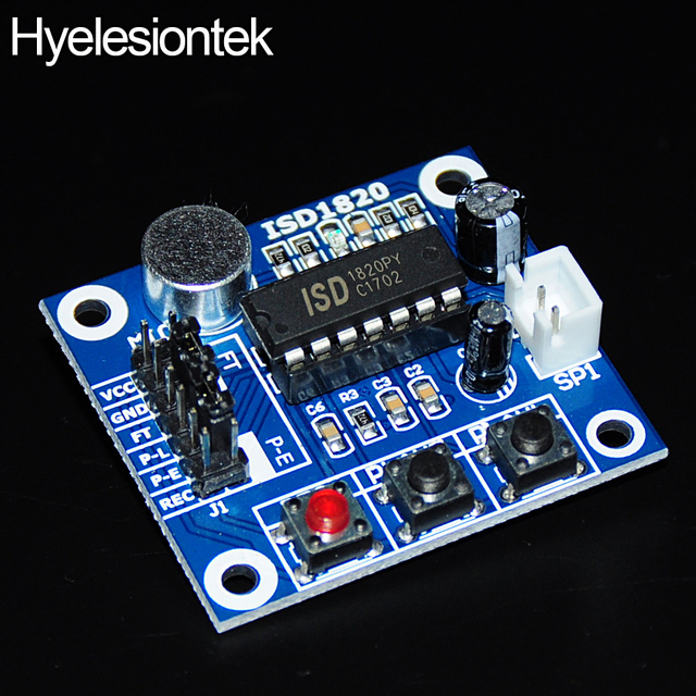 recording module isd1820 for arduino diy kit voice module board