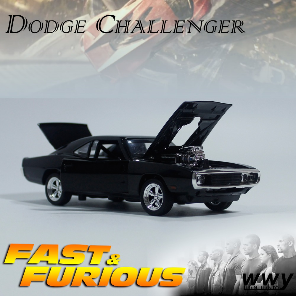 1 32 diecast fast and furious dodge challenger model finished goods for kids toys in diecasts. Black Bedroom Furniture Sets. Home Design Ideas