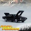 1/32 Miniaturas de Fast and Furious Dodge Challenger Modelo Productos Terminados para Niños Juguetes