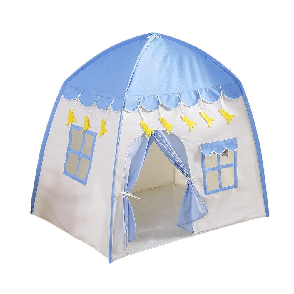 Enfants jouant tente Portable tipi tente enfants magique espace privé jouer jouet auvent playhouse 130*100*130 cm