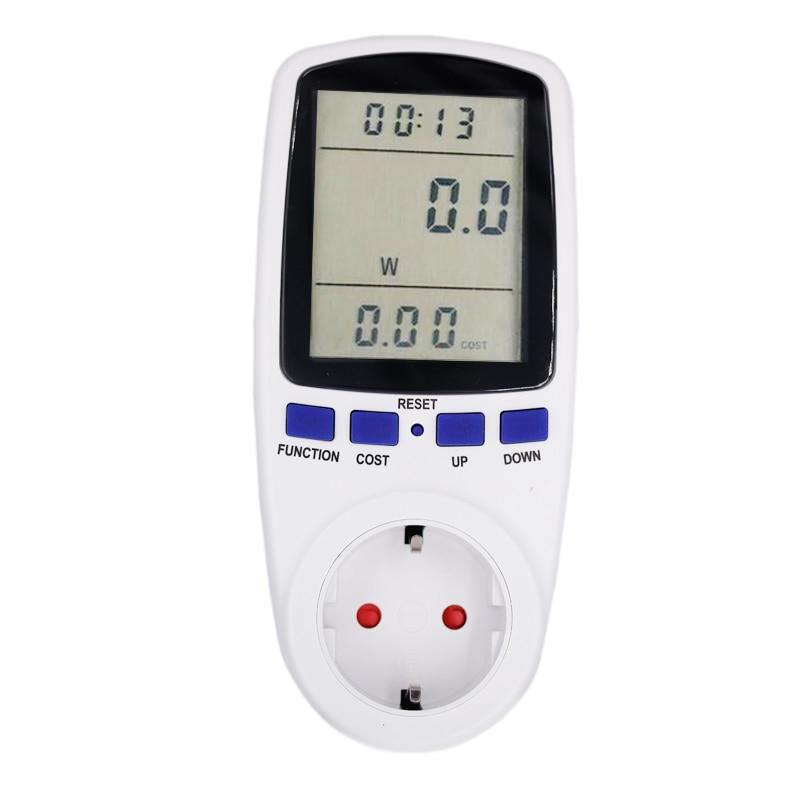Digital Power Meter With Remote Display : Digital energy meter watt volt voltage electricity monitor