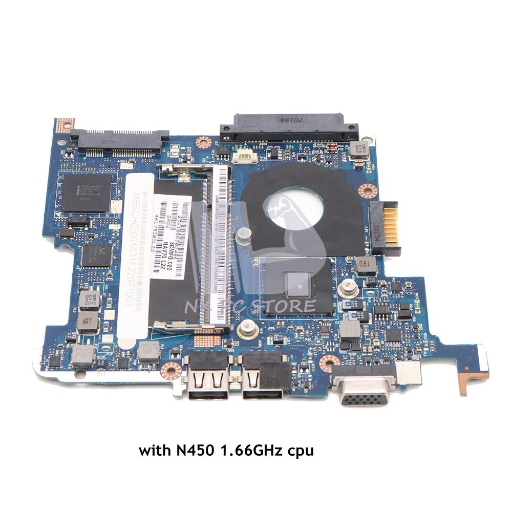 NOKOTION MBSAL02001 MB.SAL02.001 For Acer Aspire One 532H D260 Motherboard For GATEWAY LT23 Main Board NAV50 LA-5651P N450 CPU