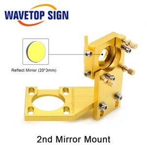 Image 5 - WaveTopSign CO2 לייזר ראש סט עבור 2030 4060 K40 לייזר חריטת מכונת חיתוך