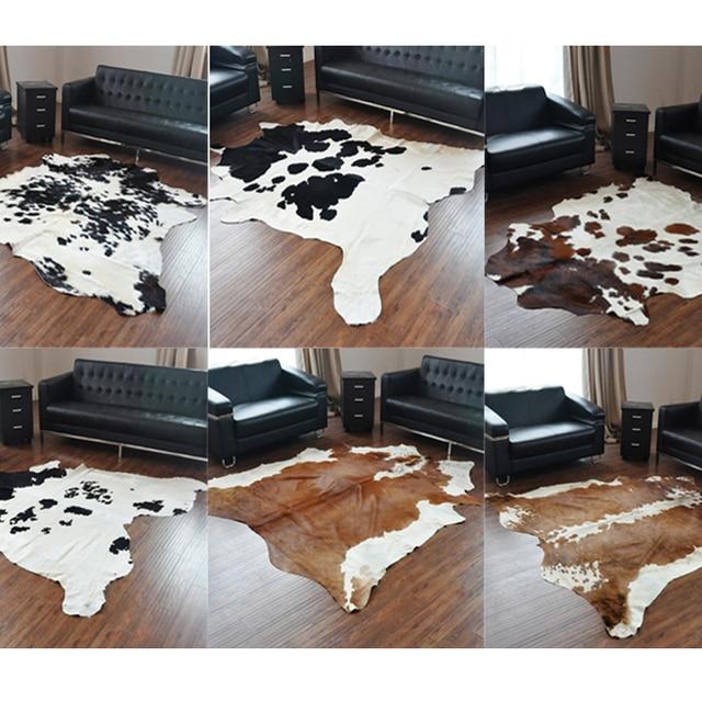 pelle di mucca tappeto camera da letto vacchetta naturale serie np ...