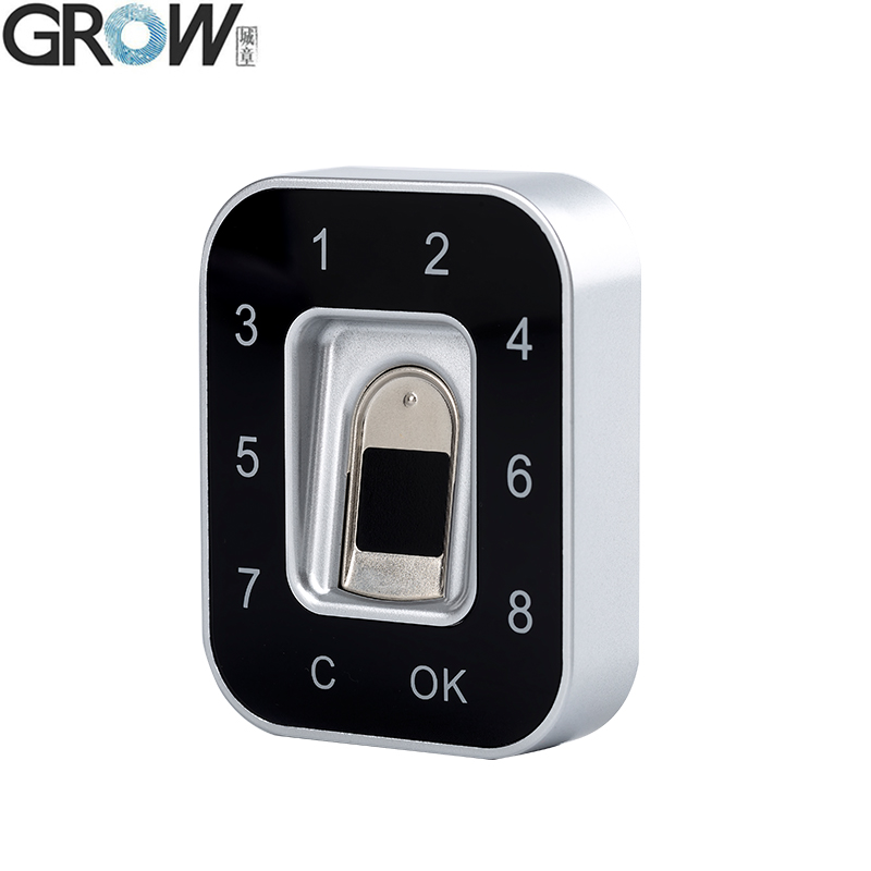 GROW G12 2018 New Design Password Fingerprint Electric Cabinet Lock For Office Home Bank