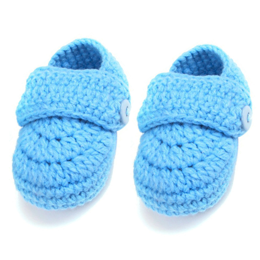 Crib-Shoes Crochet Walk-Socks Toddlers Infants Baby Knit Cute Soft 1-Pair Top-Quality