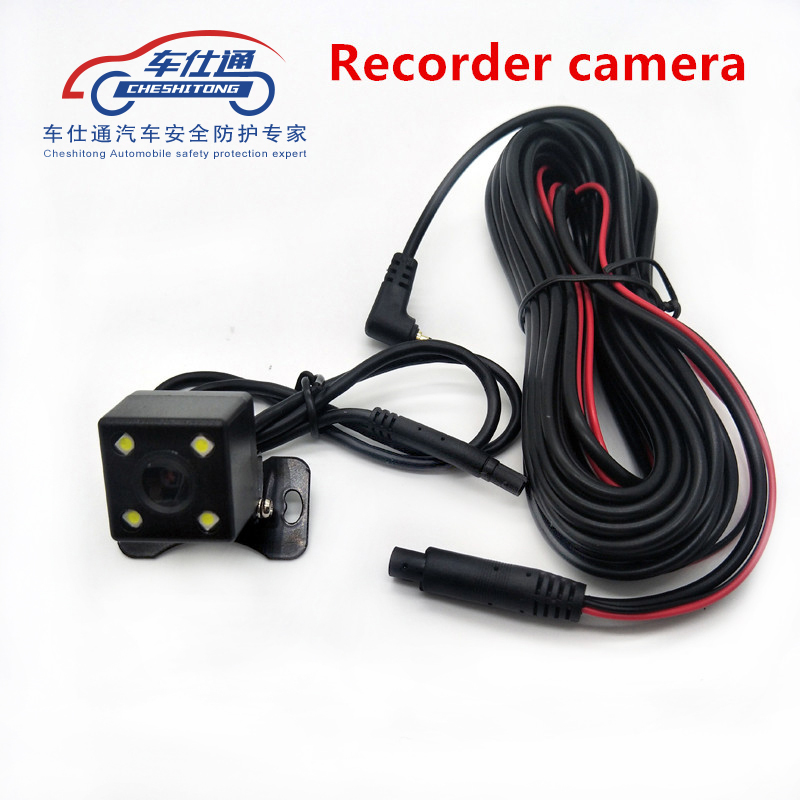 Camera Led-Lights Pull-Back Wide-Angle Waterproof Recorder 140-Degree with The