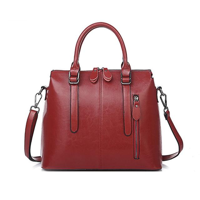2017 Latest Famous Brand Designer Leather Handbags Fashion Las Totes Bags Portable Messenger Bag Shoulder
