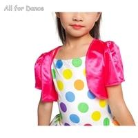 Big Sale Bright Polka Dot Dance Top Ballet Tutu For Girls Ballet Dance Tutu For Little Ballerina Stage Dance Performance