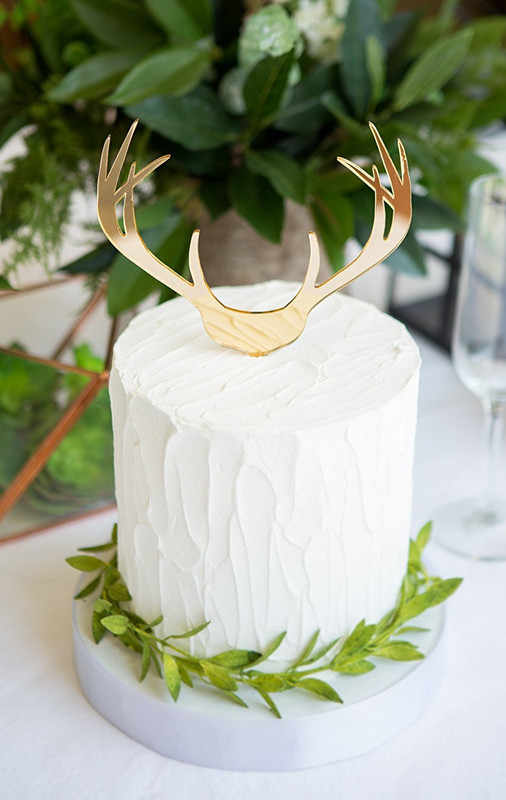 Super Boho Antler Wedding Cake Topper For Wedding Country Bohemian Party Funny Birthday Cards Online Elaedamsfinfo