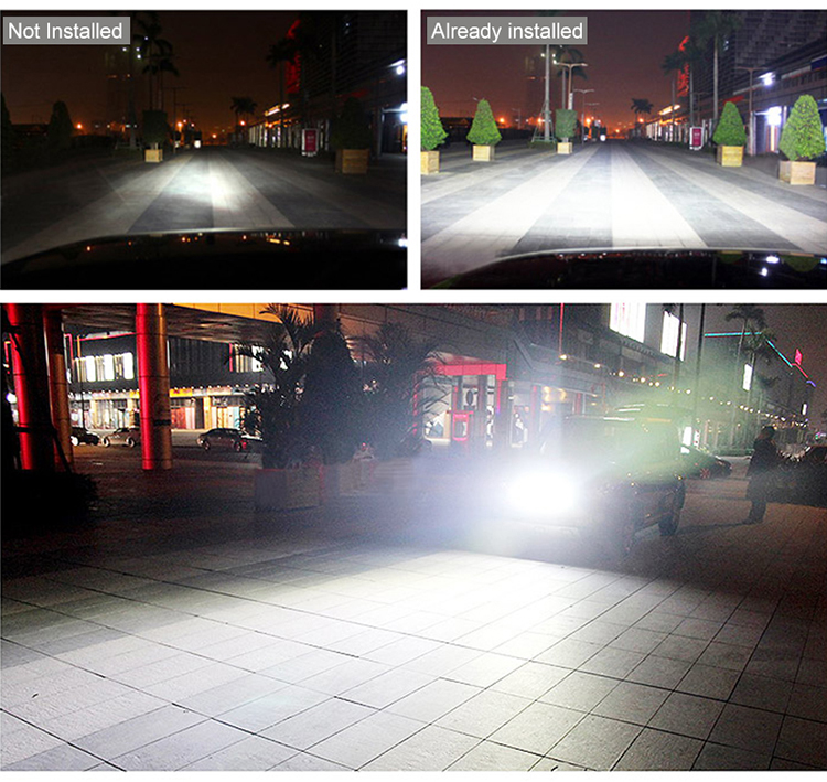 HTB1X.OkXfjsK1Rjy1Xaq6zispXaN OKEEN 4inch 10cm 18W 27W 48W Offroad Car 4WD Truck Tractor Boat Trailer 4x4 SUV ATV 24V 12V Spot LED Light Bar LED Work Light