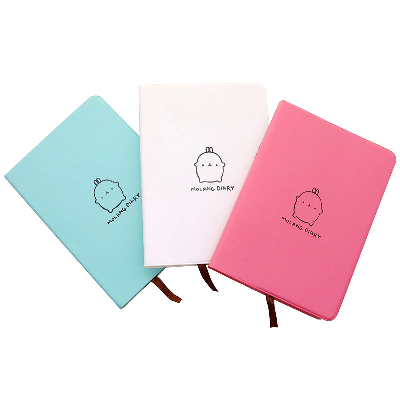Calendar Notepad Notebook Soft Leather Cover 172 *122 *13mm Office School Notebooks Writing Pads Kawaii Study Notebook Gift calendar 2017 a5 calendar handbook of efficiency for industry and commerce business notepad log can be customized logo