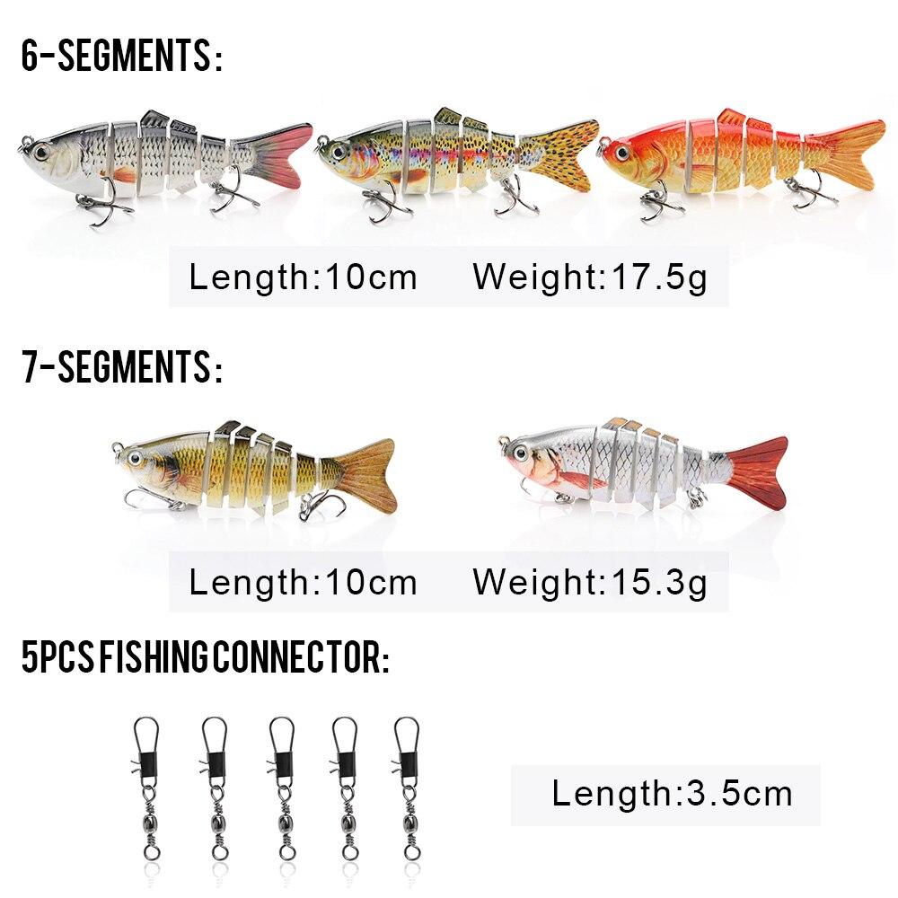 Conjunto com a Caixa de Pesca Lure Set 15/24/94/240 Pcs Ganchos