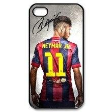 A equipa de futebol Neymar Da Silva Numer 11 Da tampa do caso para o Iphone 4 4S 5 5S 5c 6 6 s 6 plus 6 s plus