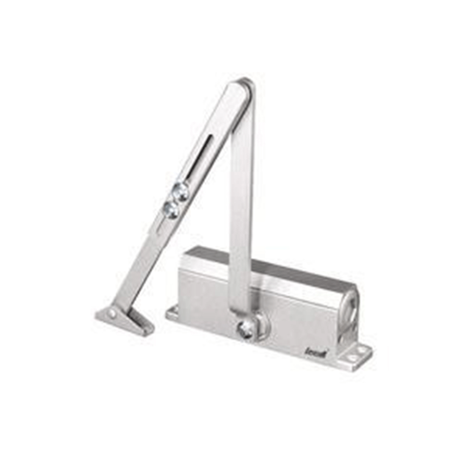 ФОТО Small Size Automatic Door Closer Arm Heavy Duty Gate Aluminum Alloy 25 to 35KG Adjustable