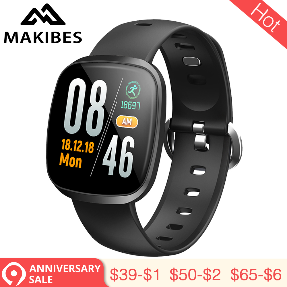 3,28 Neue MAKIBES HR5 Armband Armband 60 tage Standby Fitness Tracker SmartBand für xiaomi iPhone7 Huawei HR3 upgrade-version