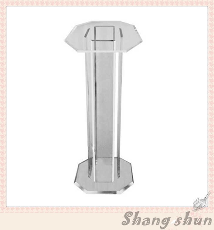 Crystal Plexiglass Clear Acrylic Church Pulpit Organic Glass Lectern Podium free shipping organic glass pulpit church acrylic pulpit of the church