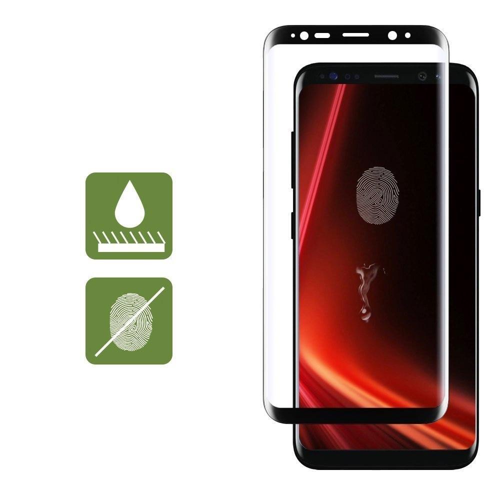 Գունավոր ապակի Samsung Galaxy S8 S8 Plus 3D Ամբողջ - Բջջային հեռախոսի պարագաներ և պահեստամասեր - Լուսանկար 4