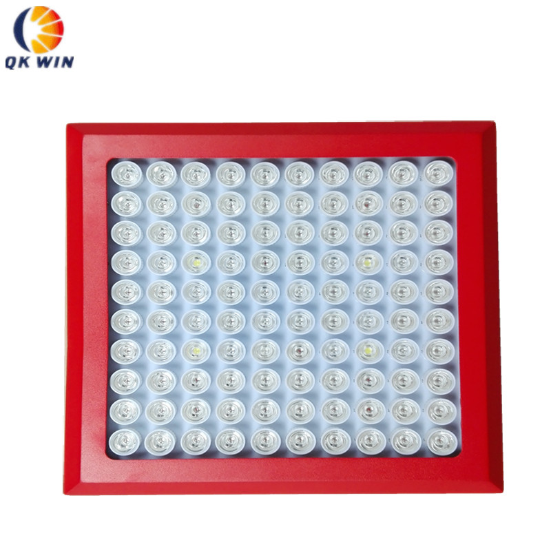 Full SpectrumLed Grow Light 300W with 100pcs 3W leds,built with optical lens,best for Medicinal plants growth and flowering