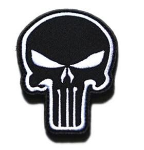 3pcs set mixed 3 color us navy seals patch skull embroidered magic