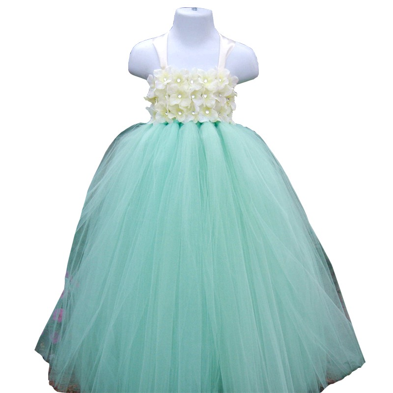 Mint Green Mix Turquoise 3 Color Flower Girl Dress For Baby Girl Wedding Birthday Party Tutu Summer Tutu Dress  сумка fiorelli fh8669 mint mix