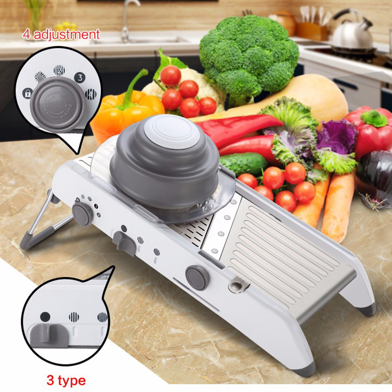 Manual Julienne Vegetable Cutter Mandoline Slicer Fruit Vegetable - Kitchen, Dining and Bar - Photo 1