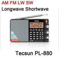 Tecsun PL-880 PLL Đa Chuyển Đổi AM/FM/LW/SW/Sóng Dài Sóng Ngắn với SSB Đài Phát Thanh