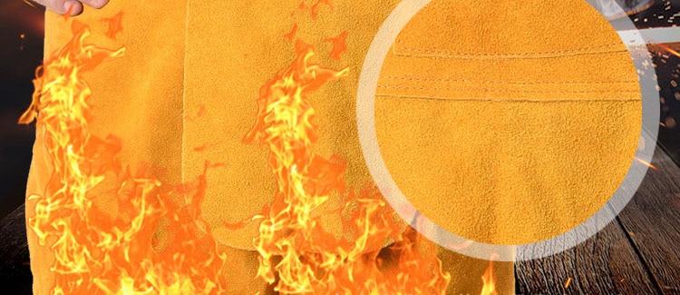 Ropa buzo de seguridad para proteccion de soldadores