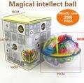 299 Passos Mágica 3D Bola Labirinto perplexus mágico intelecto bola Mármore Enigma brinquedos educativos Jogo perplexus bolas de Equilíbrio IQ brinquedo