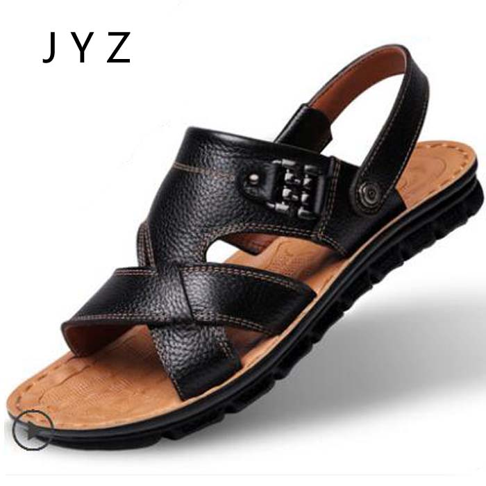 Fashion New Mens Sandals Summer Casual Beach Shoes Soft Slippers Flats Size 45 46 47 men0019 7