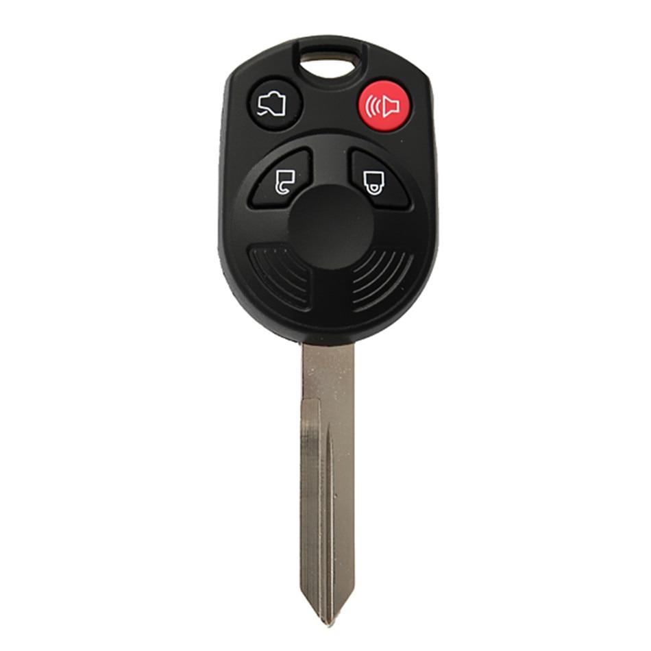 4 boutons Verrouiller Déverrouiller Camion Et Panique Remplacement Verrouillage À Distance Combo Clé Pour Ford Escape