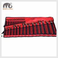 X steel 25 шт. CR V Ratcheting Ratchet комбинированное кольцо открытый гаечный ключ набор (6 32 мм)