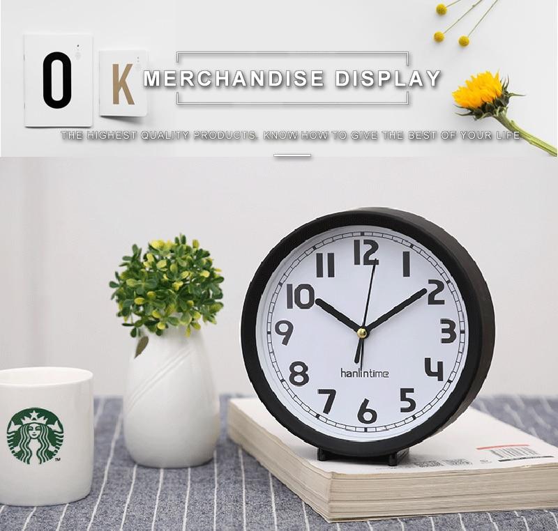 vintage relógio de mesa digital electronic wall clock retro wave desk calendar alarm clock table horloge numérique manta moto office electronics office (3)