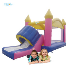 China Professional Supplier Inflatable Bouncy House With Slide For Sale