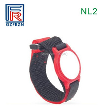 100pcs/lot 13.56MHz NFC Nylon RFID ISO14443A Wristband with FM11RF08 (Compatible MF S50) chip for access control system 1pcs 13 56mhz rfid nylon wristband bracelet tag with fudan 1k s50 chip for access control nfc payment