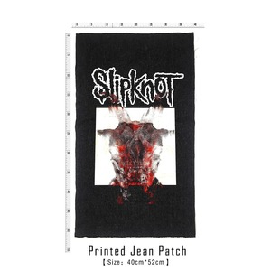 Image 4 - Bloodhoof Store Slipknot Rock And Roll Death Heavy Hardcore Punk Style Patch Designs Denim Jeans mens Jackets And Coats