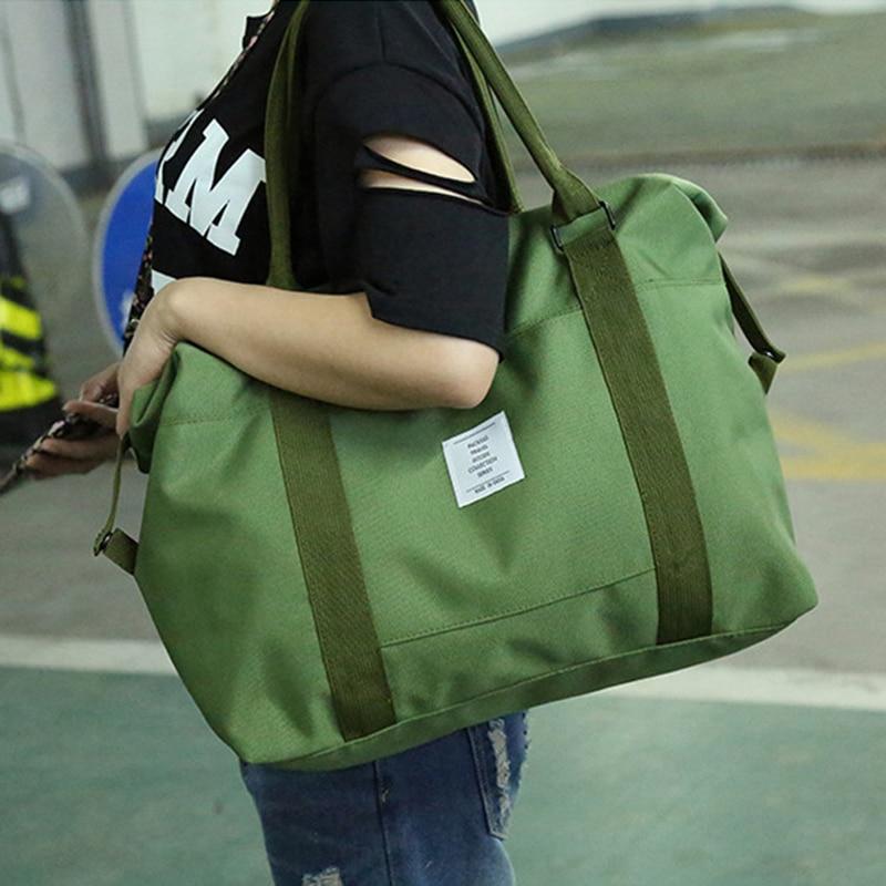 e8d57edc1e HIGHSEE Large Capacity Canvas Gym Bag Men Sac De Sport Fitness Bag ...