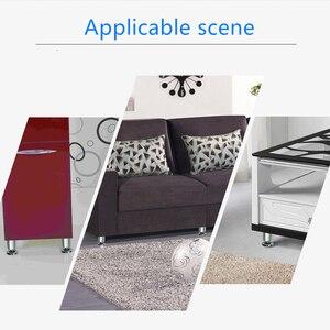 Image 5 - 4 piezas espesar de aleación de aluminio de las piernas de los muebles mesa ajustable gabinetes pies sofá cama gabinete de TV de las piernas de los muebles multi  tamaño