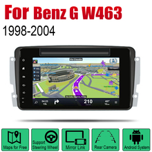 Android 2 Din Auto Radio DVD For Mercedes Benz G W463 1998~2004 NTG Car Multimedia Player GPS Navigation System Radio Stereo 7 android 9 0 car multimedia player for mercedes benz clk w209 w203 w208 w463 1998 2004 stereo dvd radio video gps navigation