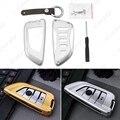 20 шт. Для BMW X1 X5 X6 X5M X6M 2/7 Серии Алюминия сплав Ключ Чехол с Кожаный Брелок Интерьер Брелок # CA4539